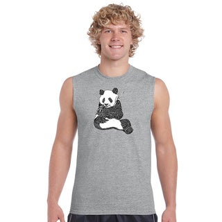 Men's Cotton Sleeveless Endangered Species T-shirt