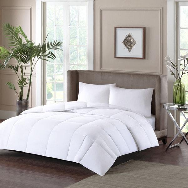 Sleep Philosophy Fit Nest White Cotton Down Alternative Comforter