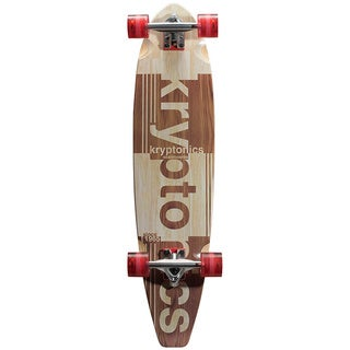 Kryptonics Blocktail Longboard (36-inch x 8.5-inch)