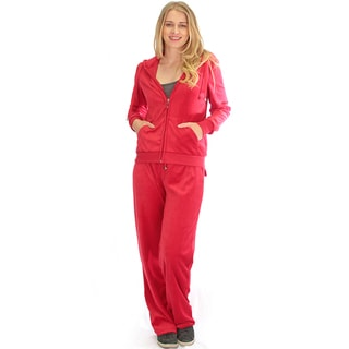 Velour Loungewear Set (2-Piece)