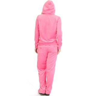 Velour Loungewear Set (2-Piece)