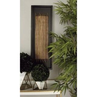Wood Wall Decor (Set Of 2) Assorted Rectangular Frames - Brown