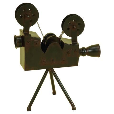 Carbon Loft Hanford Metal Antique Camera Accent Piece
