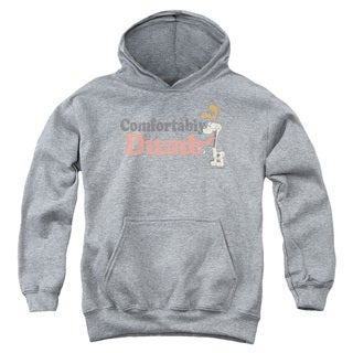 Garfield/Comfortably Dumb Youth Pull-Over Hoodie in Heather