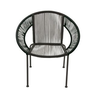 Splendid Metal Plastic Rattan Chair