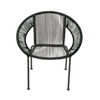 Link to Splendid Metal Plastic Rattan Chair Similar Items in Living Room Chairs