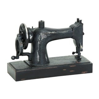 Industrial Age Sewing Machine Decor