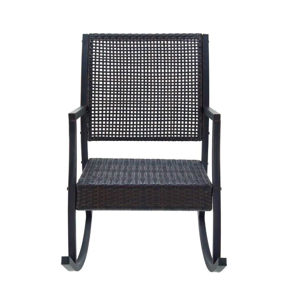 Studio 350 Classy Metal And Pe Rattan Swing Chair (Chair)...