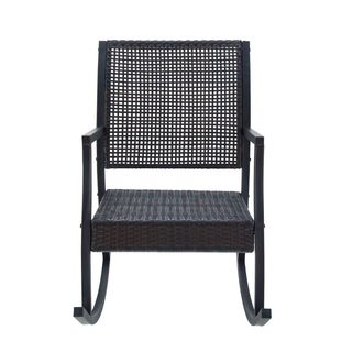 Classy Metal And Pe Rattan Swing Chair