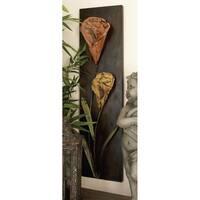 Floral Designed Metal Wall Decor (Set of 4)