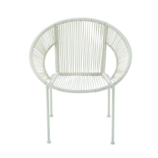 Durable Metal Plastic Rattan Chair