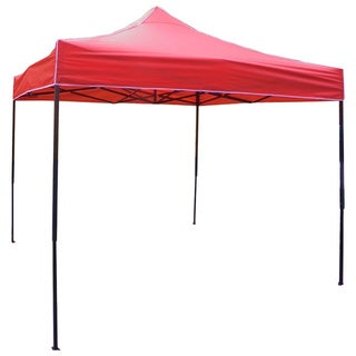 Deluxe 10-foot x 10-foot Pop-up Frame Outdoor Gazebo Canopy