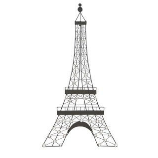 Elegant Diamond Beaded Eifel Tower Wall Decor