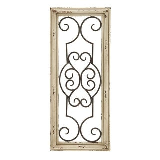 Wood Panel Wall Decor wood metal wall panel wall decor - free shipping today - overstock