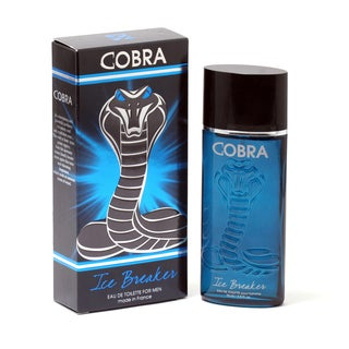 Jeanne Arthes Men's Cobra Ice Breaker 2.5-ounce Eau de Toilette Spray