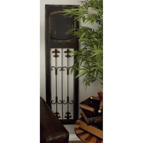 Studio 350 Wood Metal Wall Decor 57 inches high, 16 inches wide
