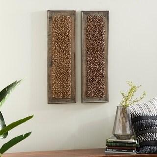 Wood Wall Decor 2 Asst For Portable Wall Decor