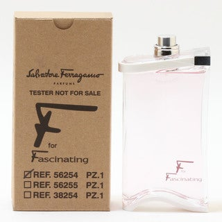 Salvatore Ferragamo F for Fascinating 3-ounce Women's Tester Eau de Parfum Spray