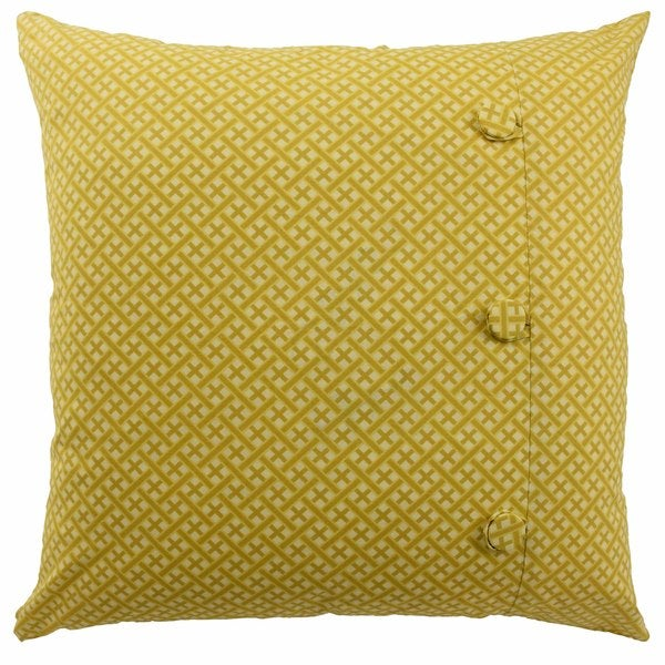 Waverly 'Swept Away' Cotton 20-inch Decorative Throw Pillow