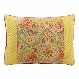 Waverly Swept Away Reversible Oblong Decorative Throw Pillow