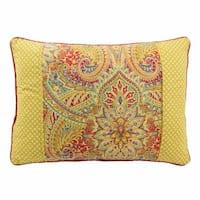 Waverly Swept Away Reversible Oblong Decorative Throw Pillow