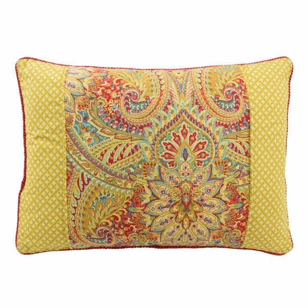 Shop Waverly Swept Away Reversible Oblong Decorative Throw Pillow Classy Decorative Throw Pillows Canada