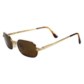 Vecceli Italy Unisex OS-138-GTORT Brown Plastic/Stainless Steel Sunglasses