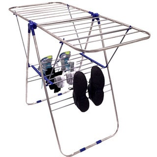EasyGo Lightweight Stainless Steel Foldable Laundry Drying Rack