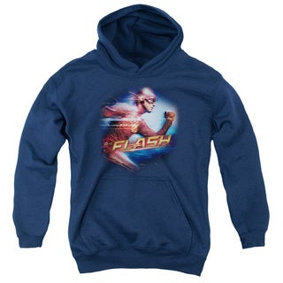 The Flash Youths' Fastest Man Navy Pull-over Hoodie