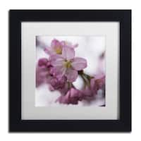 Kurt Shaffer 'Cherry Pink' Matted Framed Art