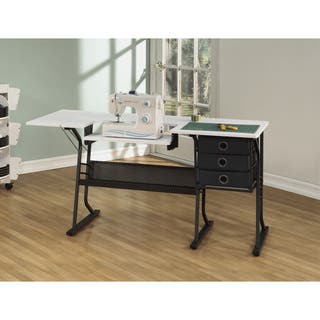 Studio Designs Eclipse Sewing Machine Table With Drawers|https://ak1.ostkcdn.com/images/products/11837980/P18741404.jpg?impolicy=medium
