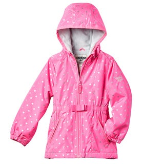 OSHKOSH Toddler Girls' Heart Print Lightweight Jacket