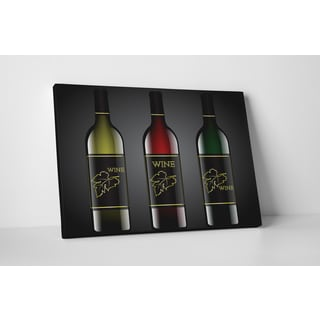 Kitchen Art 'Colors of WIne' Gallery Wrapped Canvas Wall Art