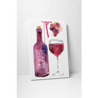 Kitchen Art 'In Vino, Veritas' Gallery Wrapped Canvas Wall Art