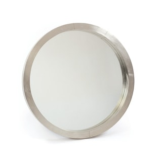 Silver Chrome and Glass 3-inch x 36-inch Frisbee Mirror
