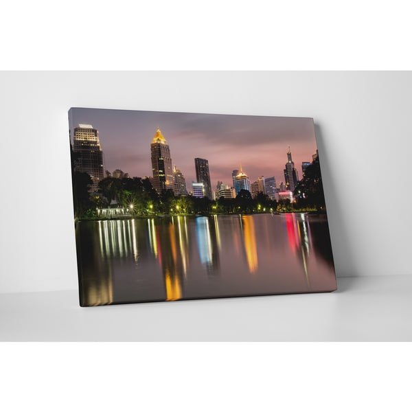 Shop City Skylines Houston Gallery Wrapped Canvas Wall
