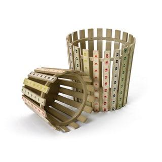 Hip Vintage Measured Wood Pails