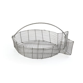 Fish Shaped Wire Basket