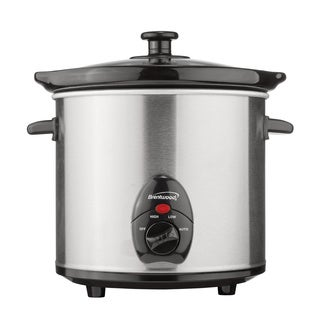Brentwood 3 Qt. Slow Cooker Stainless