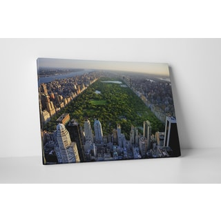 City Skylines 'Central Park NY' Gallery Wrapped Canvas Wall Art