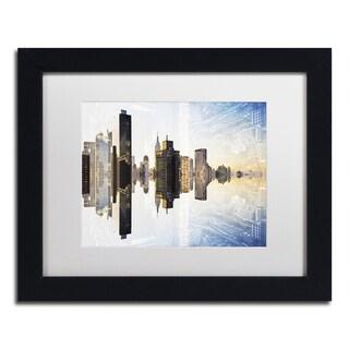 Philippe Hugonnard 'New York Reflection VIII' Matted Framed Art