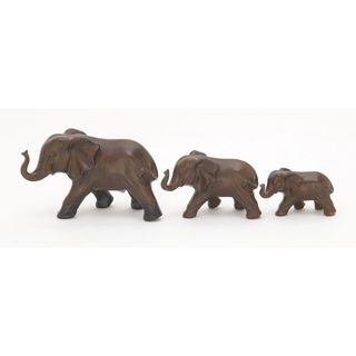 Endearing Ceramic Elephant (Set Of 3)