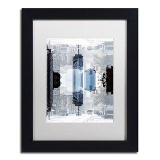 Philippe Hugonnard 'New York Reflection V' Matted Framed Art