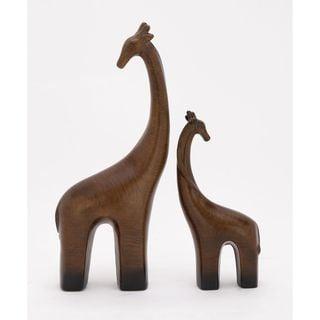 Modern Ceramic Giraffe (Set Of 2)
