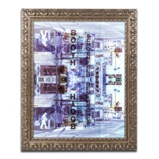 Philippe Hugonnard 'New York Reflection VI' Ornate Framed Art