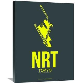 Naxart Studio 'NRT Tokyo Poster 2' Stretched Canvas Wall Art