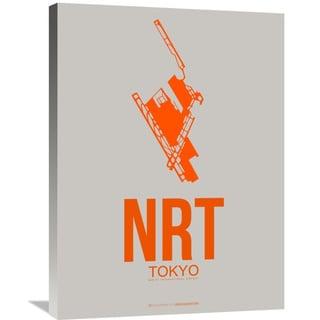 Naxart Studio 'NRT Tokyo Poster 1' Stretched Canvas Wall Art