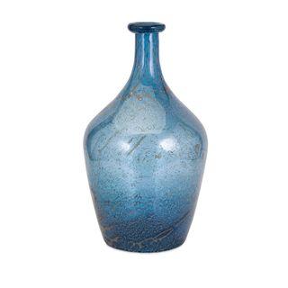 Trisha Yearwood Cowboy Blue Art Glass Vase