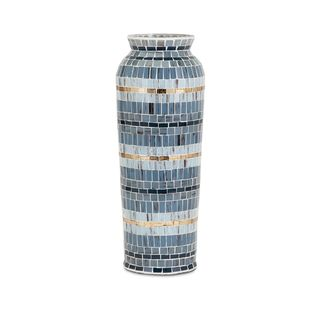 Trisha Yearwood Cowboy Mosaic Vase