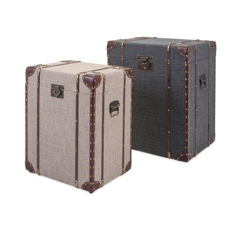 Trisha Yearwood Outer Banks Storage Trunks - Set of 2 - Multi
